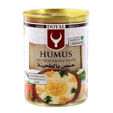 Humus - libańska pasta z ciecierzycy 400 g Wasabi Sushi Shop Wrocław Sklep Orientalny