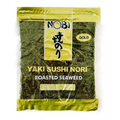 Algi morskie Yaki Sushi Nori Gold 10 Wasabi Sushi Shop Wrocław produkty i akcesoria do sushi i kuchni orientalnej