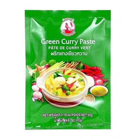 Pasta curry zielona 50 g Sklep Wasabi Sushi Shop Wrocław produkty i akcesoria do sushi i kuchni orientalnej