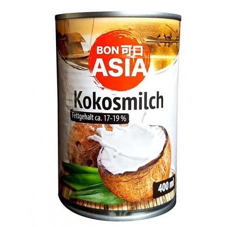 Mleczko kokosowe 17 - 19 % 400 ml Sklep Wasabi Sushi Shop Wrocław produkty i akcesoria do sushi i kuchni orientalnej