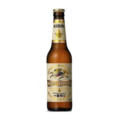 Jasne japońskie piwo Kirin Ichiban 330ml Wasabi Sushi Shop Wrocław Sklep Orientalny