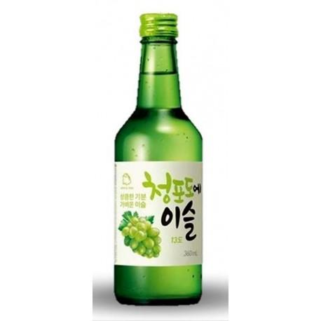 Soju Hitejinro zielony winogron 360 ml  Wasabi Sushi Shop Wrocław Sklep Orientalny