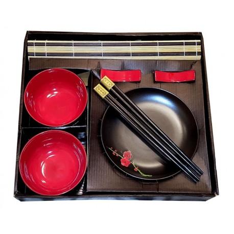 Zestaw do sushi Red Flower Wasabi Sushi Shop Wrocław produkty i akcesoria do sushi i kuchni orientalnej