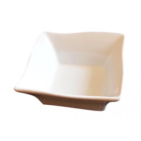 Miseczka kwadratowa biała 10,5 x 10,5 x 4 cm Wasabi Sushi Shop Wrocław Sklep Orientalny