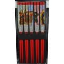 Pałeczki czerwone Aka No Samurai 5 par