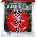 Algi morskie Yaki Sushi Nori Red 100 x 1/2 ark.