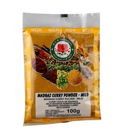 Curry Madras mielone łagodne 100 g Sklep Wasabi Sushi Shop Wrocław produkty i akcesoria do sushi i kuchni orientalnej