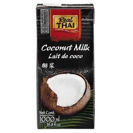 Mleko kokosowe 85% 1000 ml Real Thai Wasabi Sushi Shop Wrocław Sklep Orientalny