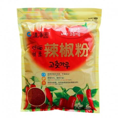 Gochugaru ostra grubo mielona czerwona papryka do Kimchi 1 kg Wasabi Sushi Shop Wrocław Sklep Orientalny