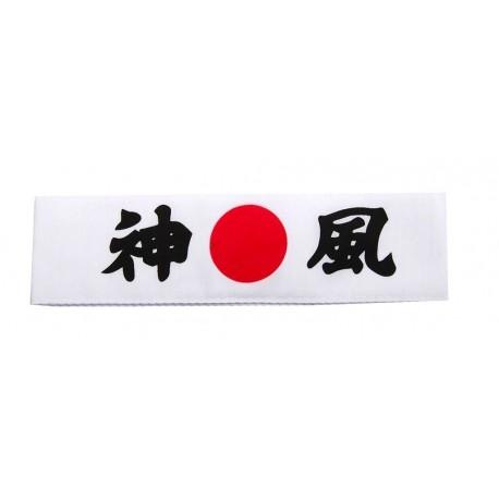 Opaska na głowę Hachimaki Kamikaze Divine Wind  biała Wasabi Sushi Shop Wrocław Sklep Orientalny