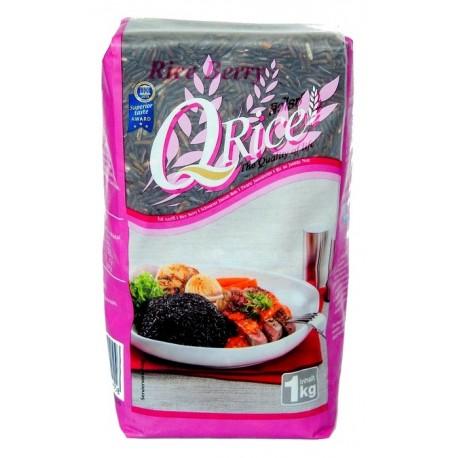 Długoziarnisty czarny ryż kleisty 1 kg Sklep Wasabi Sushi Shop Wrocław produkty i akcesoria do sushi i kuchni orientalnej