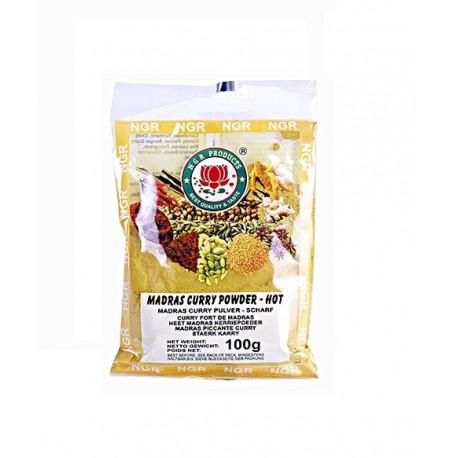 Curry Madras mielone ostre 100 g Sklep Wasabi Sushi Shop Wrocław produkty i akcesoria do sushi i kuchni orientalnej