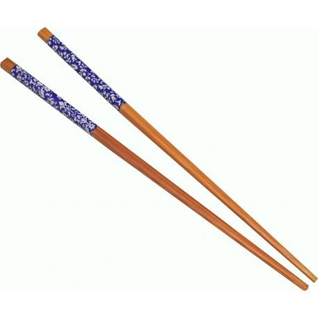 Pałeczki bambusowe Folk 1 para Sklep Wasabi Sushi Shop Wrocław produkty i akcesoria do sushi i kuchni orientalnej