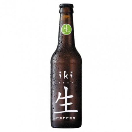 Piwo IKI z pieprzem syczuańskim i zieloną herbatą Sencha 330 ml