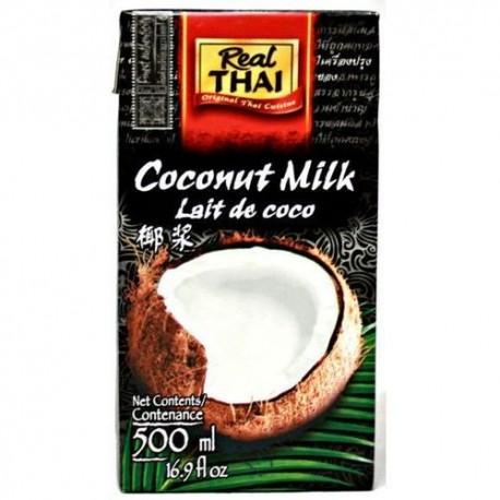 Mleko kokosowe 85% 500 ml Real Thai Wasabi Sushi Shop Wrocław Sklep Orientalny
