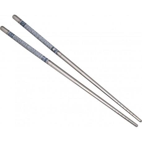 Pałeczki stalowe Deko 1 para Sklep Wasabi Sushi Shop Wrocław produkty i akcesoria do sushi i kuchni orientalnej