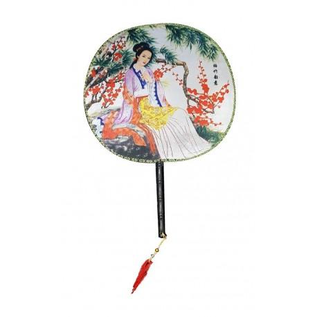 Wachlarz 22 cm Geisha 3 Wasabi Sushi Shop Wrocław Sklep Orientalny