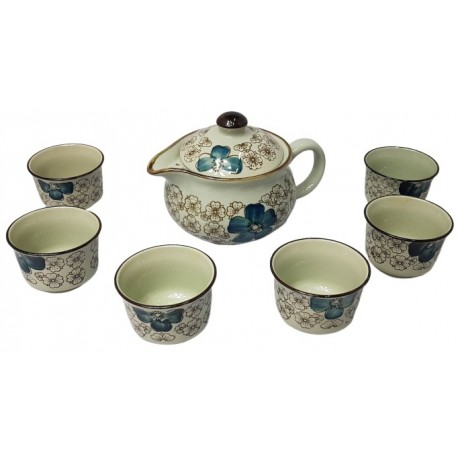 Zestaw do herbaty dla 6 osób Mini Blue II Wasabi Sushi Shop Wrocław Sklep Orientalny