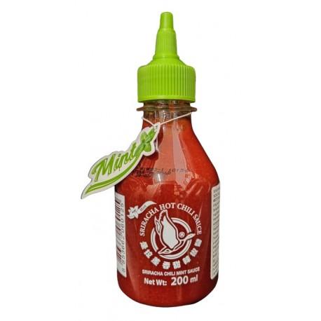 Sos chili Sriracha z miętą 200 ml (chili 61%) Wasabi Sushi Shop Wrocław Sklep Orientalny