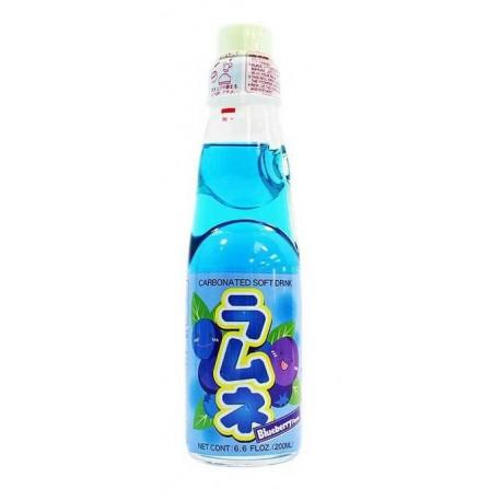 Japońska oranżada Ramune Bluberry o smaku borówki amerykańskiej 200 ml Wasabi Sushi Shop Wrocław Sklep Orientalny