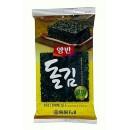 Algi Nori krojone prażone naturalne 3,5 g