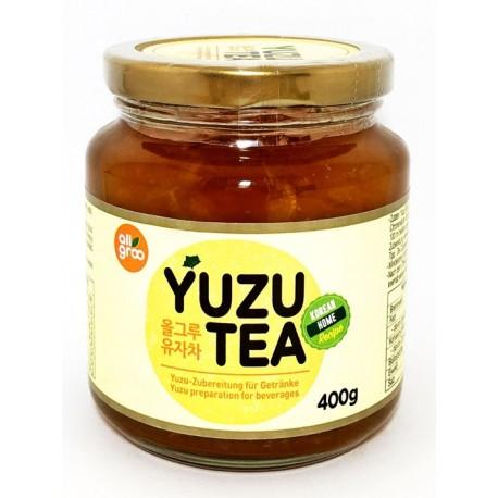 Koreańska Herbata z Yuzu ALL GROO 400 g Wasabi Sushi Shop Wrocław Sklep Orientalny