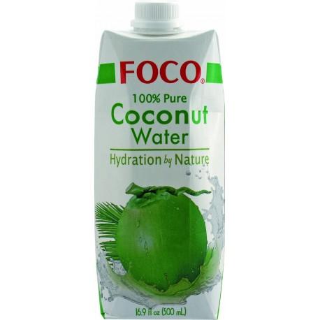 Woda kokosowa czysta 500 ml Sklep Wasabi Sushi Shop Wrocław produkty i akcesoria do sushi i kuchni orientalnej