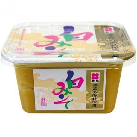 Shinjyo Miso jasna pasta do zupy Miso 300 g Sklep Wasabi Sushi Shop Wrocław produkty i akcesoria do sushi i kuchni orientalnej