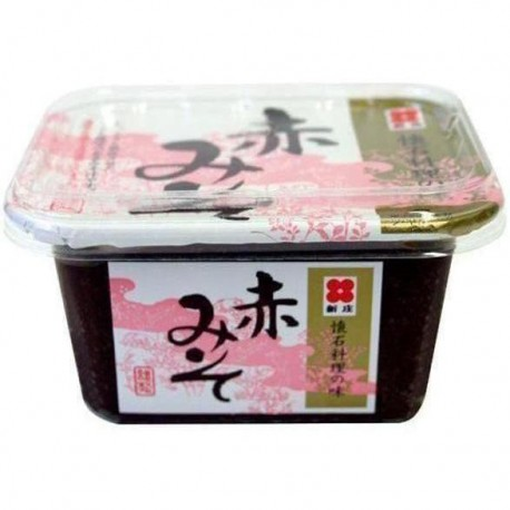 Shinjyo Miso ciemna pasta do zupy Miso 300 g Sklep Wasabi Sushi Shop Wrocław produkty i akcesoria do sushi i kuchni orientalnej