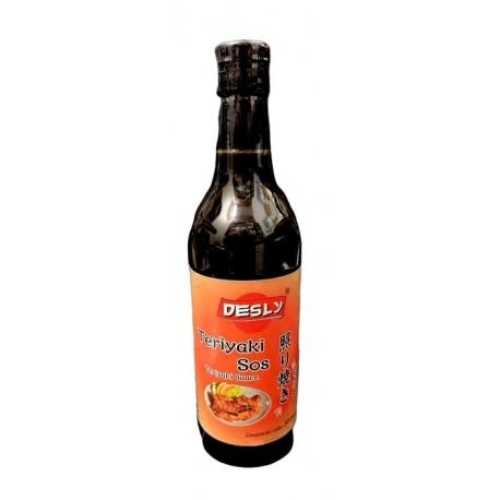 Gęsty sos / marynata Teriyaki Desly 500 ml Wasabi Sushi Shop Wrocław Sklep Orientalny