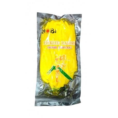 Żółta rzodkiew marynowana Oshinko Takuan 350 g Wasabi Sushi Shop Wrocław Sklep Orientalny