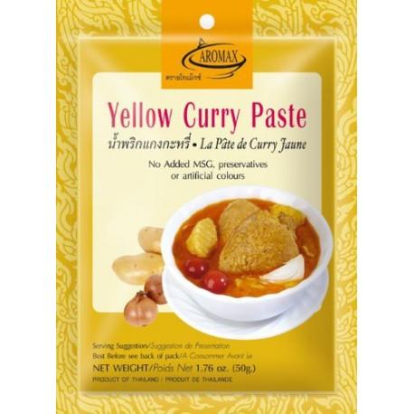 Pasta curry żółta 50 g Sklep Wasabi Sushi Shop Wrocław produkty i akcesoria do sushi i kuchni orientalnej