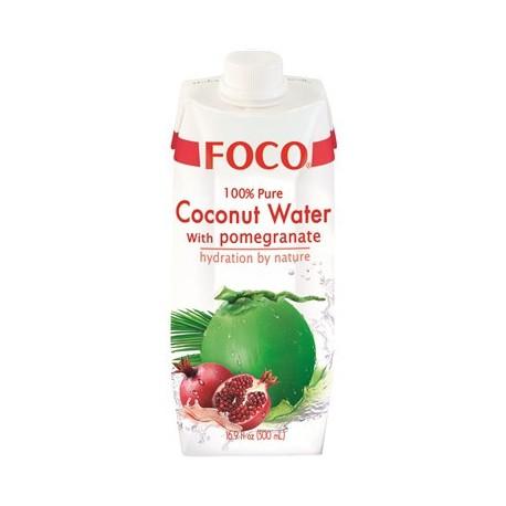 Woda kokosowa z sokiem z granatu 500 ml Sklep Wasabi Sushi Shop Wrocław produkty i akcesoria do sushi i kuchni orientalnej