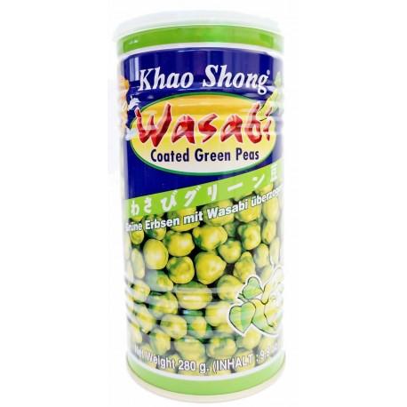 Groszek zielony z wasabi 280 g Sklep Wasabi Sushi Shop Wrocław produkty i akcesoria do sushi i kuchni orientalnej