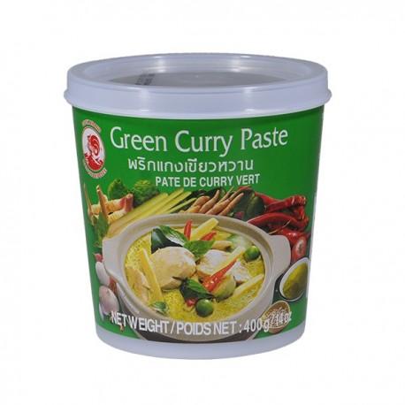 Pasta curry zielona 400 g Sklep Wasabi Sushi Shop Wrocław produkty i akcesoria do sushi i kuchni orientalnej