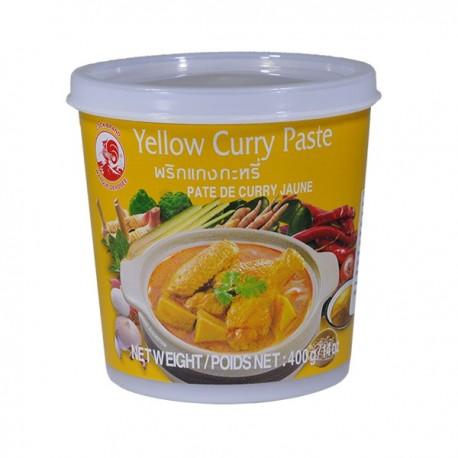 Pasta curry żółta 400 g Sklep Wasabi Sushi Shop Wrocław produkty i akcesoria do sushi i kuchni orientalnej