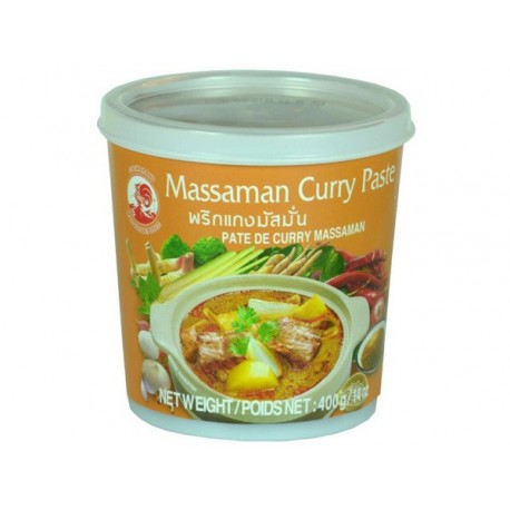 Pasta curry Massaman 400 g Sklep Wasabi Sushi Shop Wrocław produkty i akcesoria do sushi i kuchni orientalnej