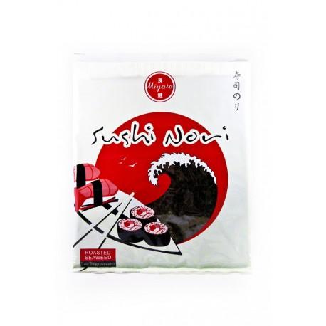 Algi morskie Yaki Sushi Nori Miyata 10 ark Sklep Wasabi Sushi Shop Wrocław produkty i akcesoria do sushi i kuchni orientalnej