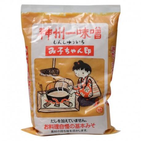Miko Chan Miso jasna pasta 1 kg Sklep Wasabi Sushi Shop Wrocław produkty i akcesoria do sushi i kuchni orientalnej