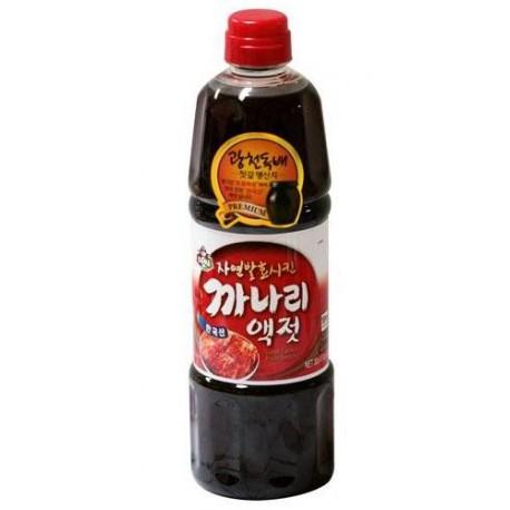 Sos rybny Kanari do Kimchi 900 ml Sklep Wasabi Sushi Shop Wrocław produkty i akcesoria do sushi i kuchni orientalnej