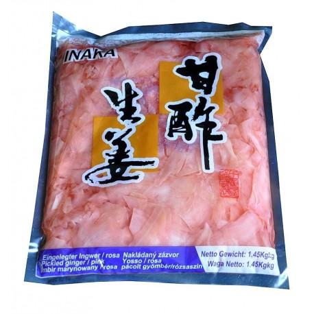 Imbir marynowany różowy 1,45 kg Sklep Wasabi Sushi Shop Wrocław produkty i akcesoria do sushi i kuchni orientalnej