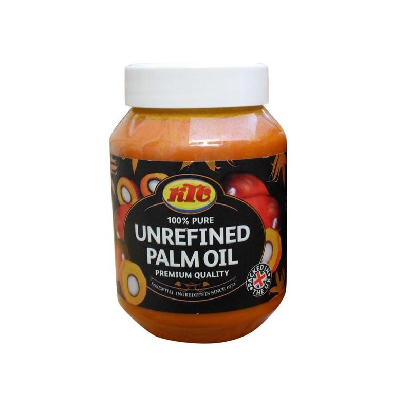 Nierafinowany Czerwony Olej Palmowy 500 Ml