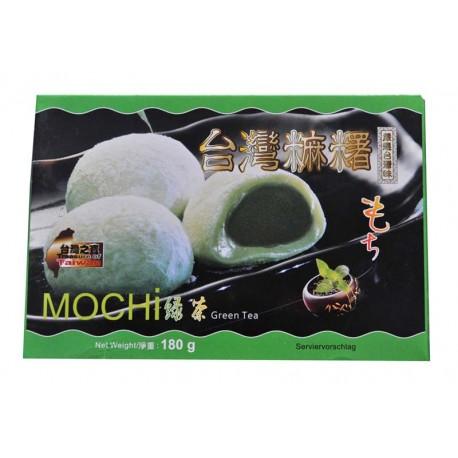 Mochi kulki ryżowe z zieloną herbatą 180 g Wasabi Sushi Shop Wrocław sklep z produktami do sushi i kuchni orientalnej
