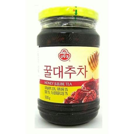 Herbata jujube z miodem 500 g Wasabi Sushi Shop Wrocław sklep azjatycki z produktami i akcesoriami do sushi i kuchni orientalnej