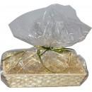 Opakowanie ozdobne, koszyk bambusowy, na prezent