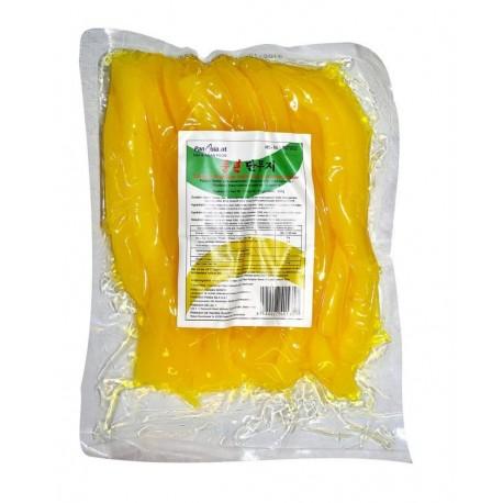 Żółta rzodkiew marynowana cięta Oshinko 350 g Wasabi Sushi Shop Wrocław produkty i akcesoria do sushi i kuchni orientalnej