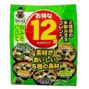 Shinsyuichi Shiro Miso pasta instant do zupy 5 smaków , 12 porcji