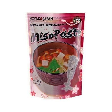 Miyako Japan ciemna pasta do zupy Miso 150 g Sklep Wasabi Sushi Shop Wrocław produkty i akcesoria do sushi i kuchni orientalnej