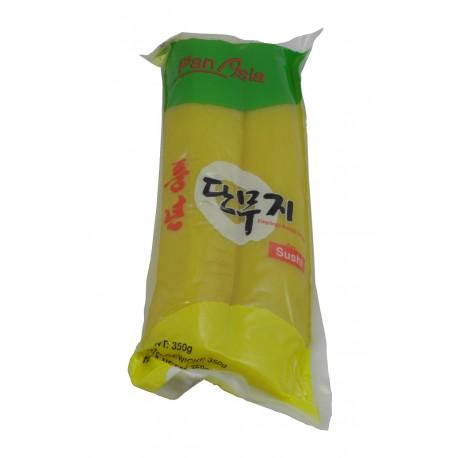 Żółta rzodkiew marynowana Oshinko 350 g Wasabi Sushi Shop Wrocław produkty i akcesoria do sushi i kuchni orientalnej