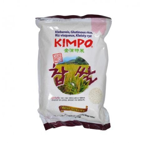 Ryż kleisty słodki biały Kimpo 2 kg Sklep Wasabi Sushi Shop Wrocław produkty i akcesoria do sushi i kuchni orientalnej